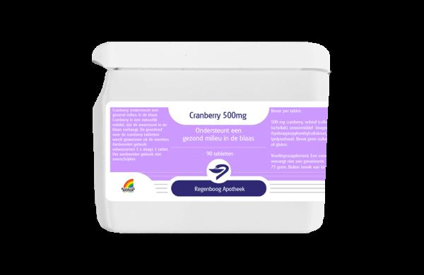 Cranberry 500mg - 90 tabletten