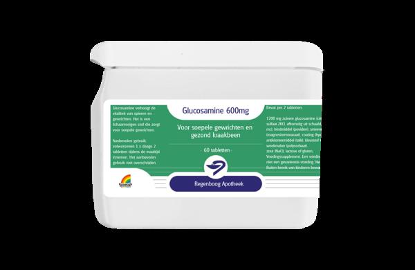 Glucosamine 600mg - 60 tabletten