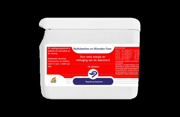 Multivitamine en Mineralen Forte - 60 tabletten