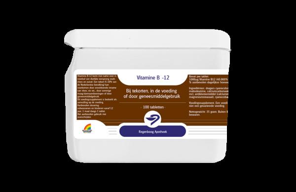 Vitamine B12 - 100 tabletten