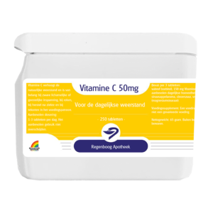 Vitamine C 50mg - 250 tabletten
