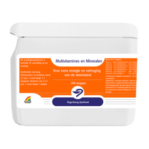 Multivitamines en Mineralen - 200 dragees